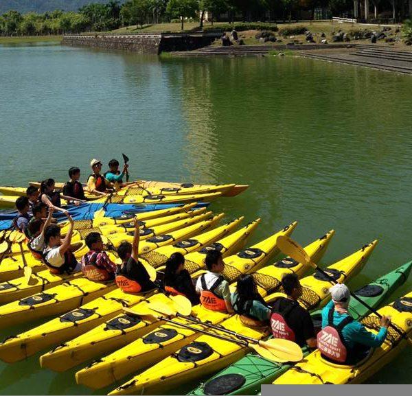 國立東華大學-獨木舟照片